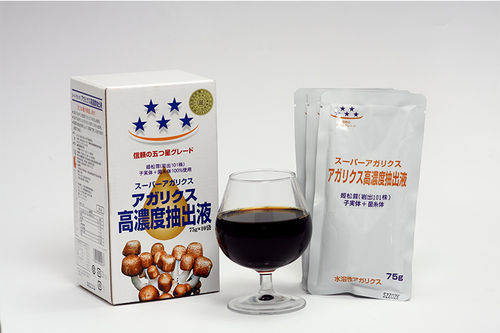 Himematsutake (Iwade Strain 101)® 姬松茸岩出101) concentrated liquid (75g x 10 packs) FD Approve
